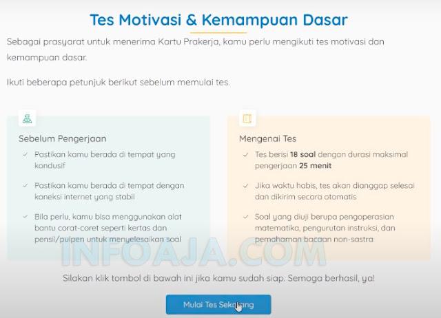 Tes motivasi dan kemampuan dasar