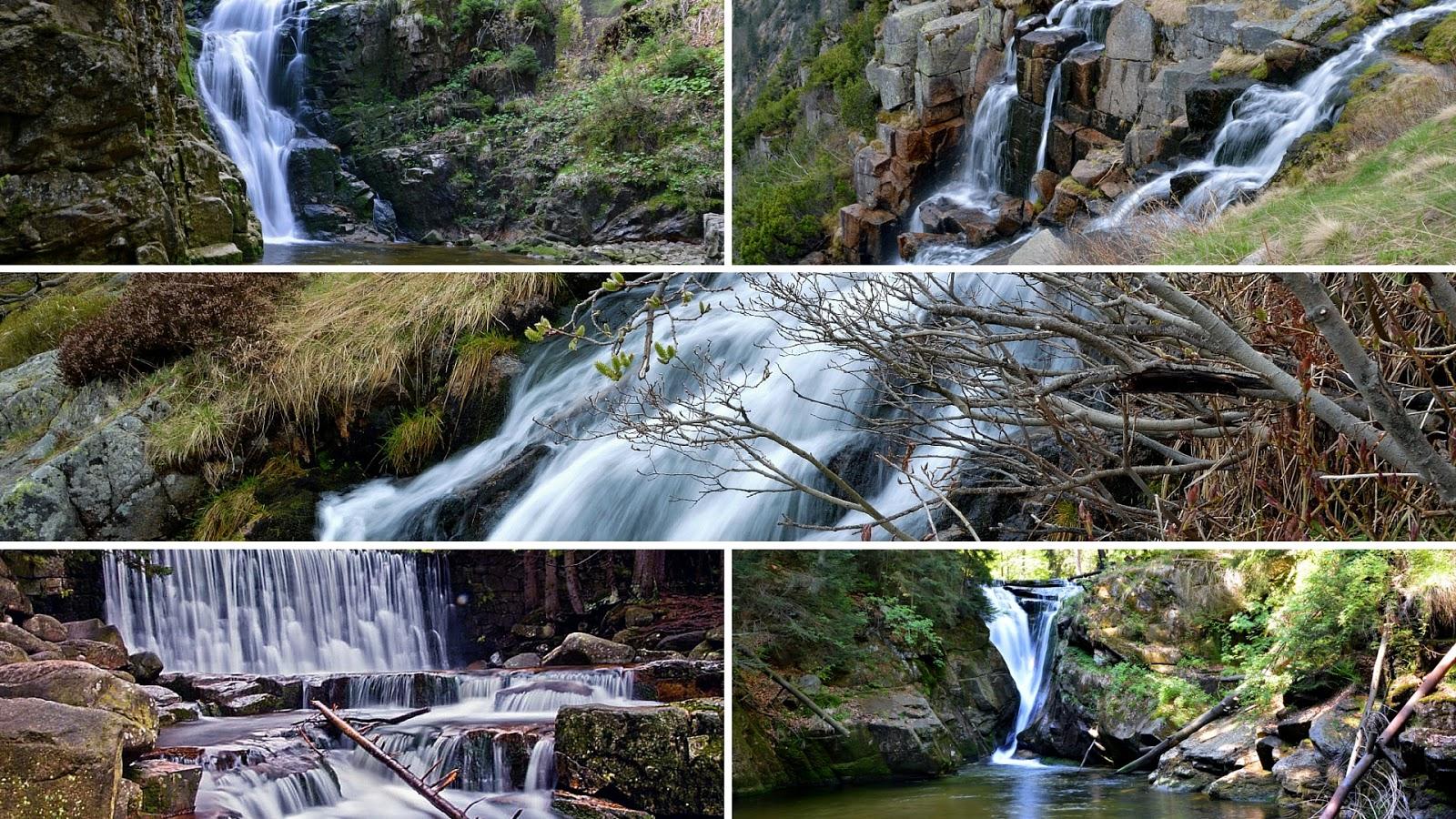 Wodospady w Karkonoszach