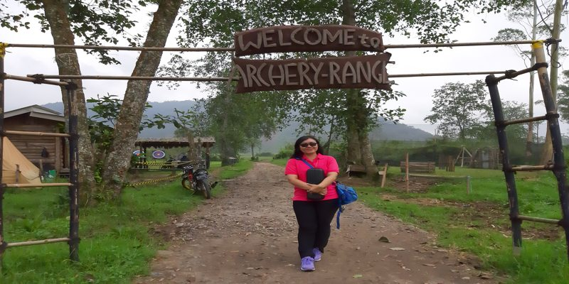 Archery Range Kampung Cai Ranca Upas Ciwidey Bandung