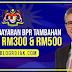PEMERKASA Plus: Semakan Bayaran BPR Tambahan RM100, RM300 & RM500