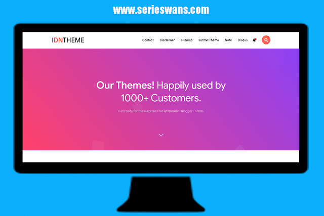 Free Download Template Blogger IDNTheme Redesign Premium