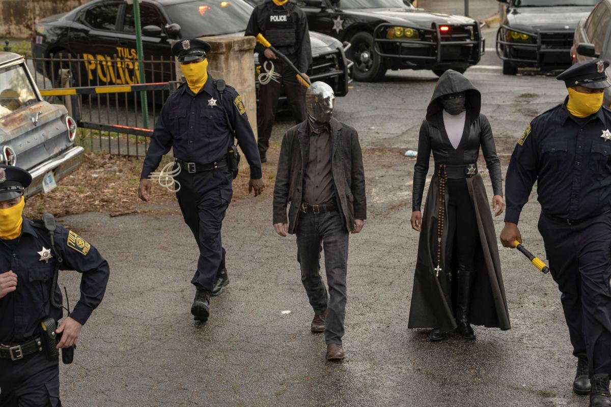 Fotograma del primer episodio de Watchmen de HBO