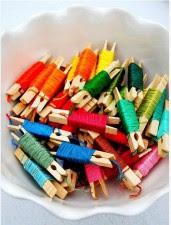 Como organizar linhas e bobinas no atelier