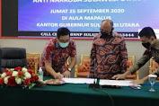 Wagub Kandow Tanda Tangani MoU Antara Pemprov Sulut dan BNN