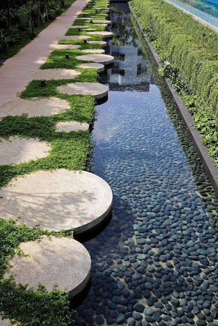 Desain Jalan Setapak Taman Rumah