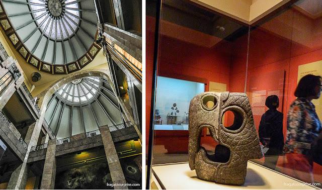 Cidade do México - Palácio Nacional de Belas Artes e Museu Nacional de Antropologia