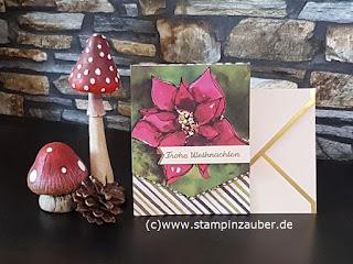 Projekt Kit Zauber von Weihnachten Silvi Provolija Unabh. Stampin' Up! Demonstratorin aus Jena