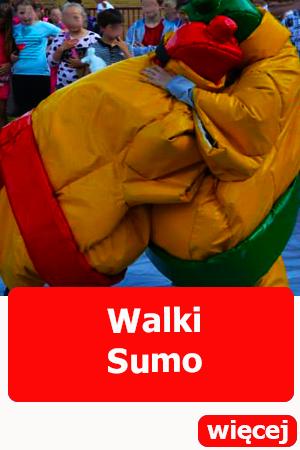 Dmuchańce wrocław Sumo walki integracja