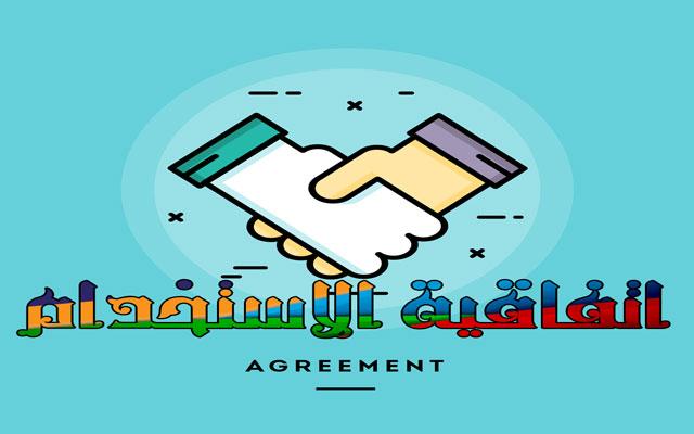 اتفاقية الاستخدام