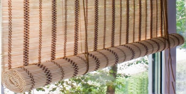 вьетнамская штора из бамбука