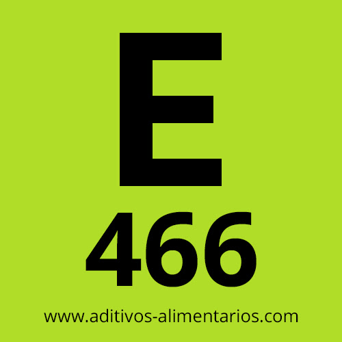 E466 - Carboximetil Celulosa de Sodio