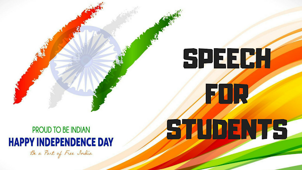 Independence Day Speech in Hindi For Students - 15th August 2018