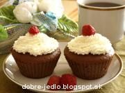Jahodové muffiny - recept