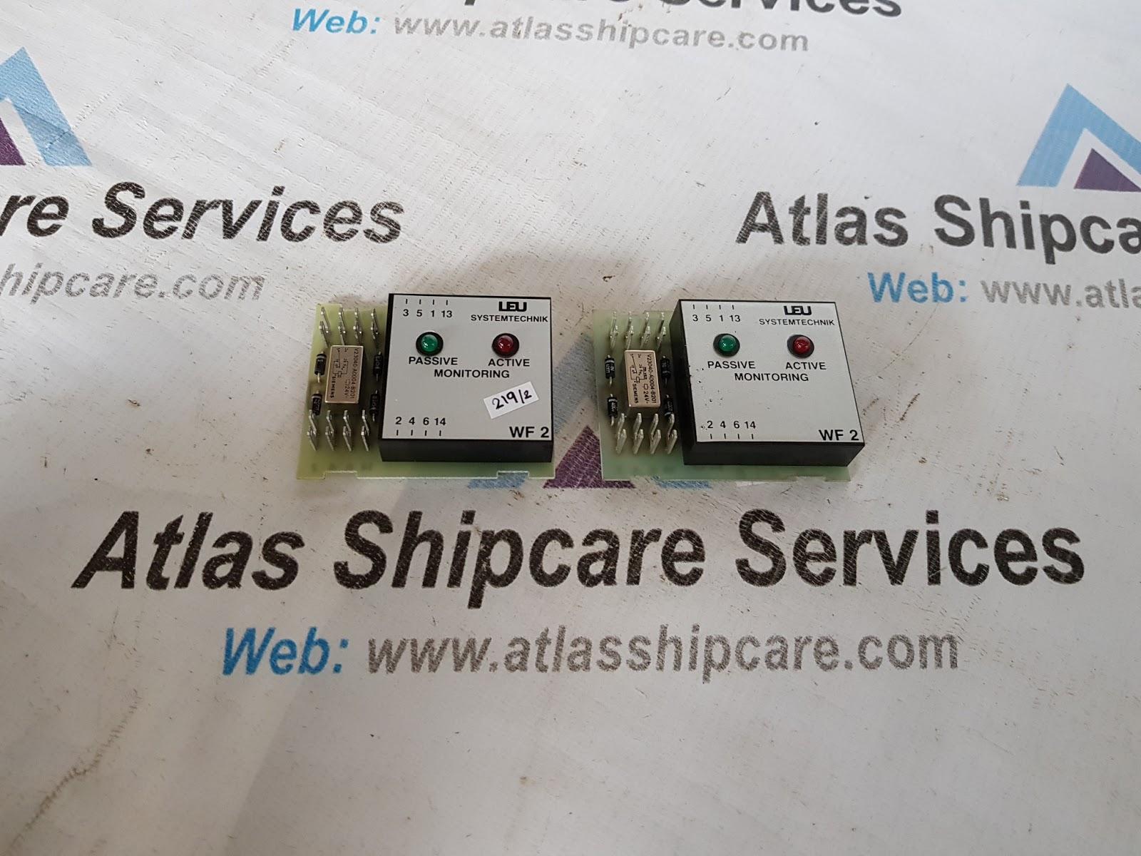 LEU SYSTEMTECHNIK LSP WF 2-S MONITORING   Atlas Shipcare Services