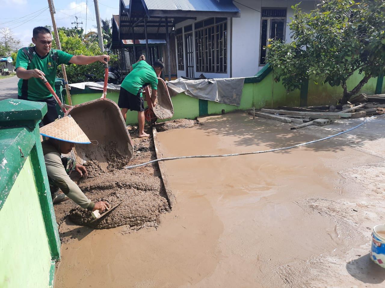 Pembinaan Pangkalan Wujud Rasa Memiliki Satuan