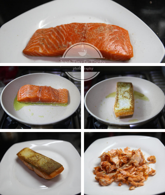 Resep Salmon Mentaiko Rice JTT