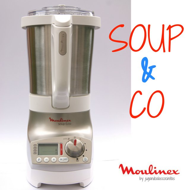 Jugando a las cocinitas soup co de moulinex - Recette moulinex soup and co ...