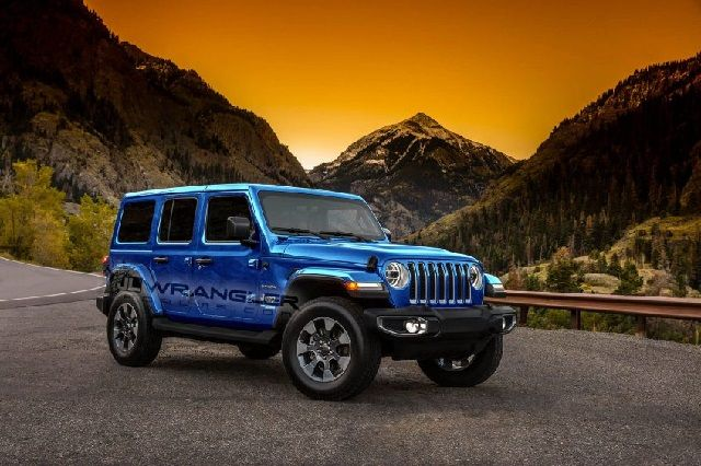 2018 Jeep Wrangler JL Unlimited Rubicon Colors