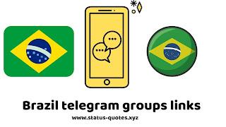 【ACTIVE】15+ Brazil Telegram Groups