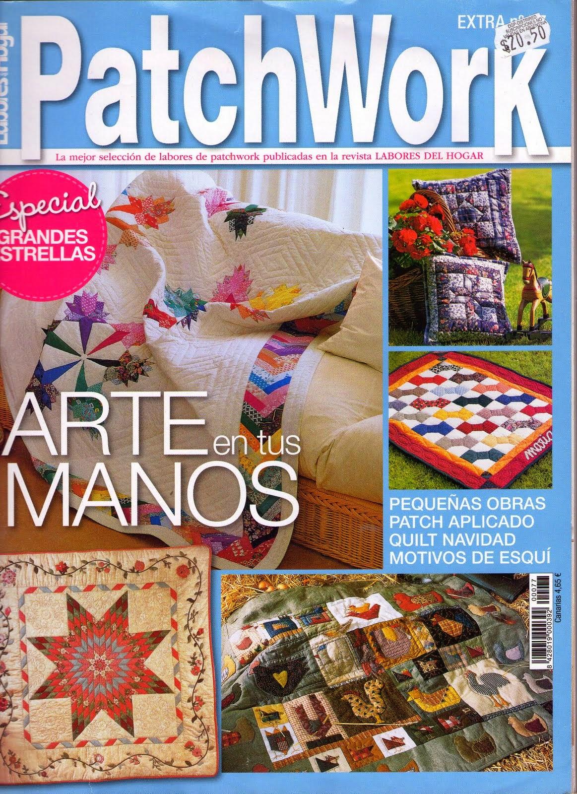 Como hacer gallinas en patchwork revistas de for Revistas de decoracion gratis