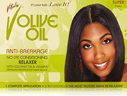 Products I Used To Relax My Hair | Featuring Vitale Olive No-Lye Anti-Breakage Relaxer