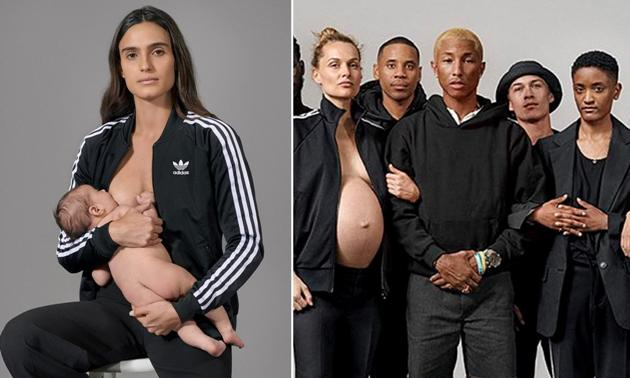 Pharrell Williams Features Pregnant and Nursing Moms in New Adidas Ads