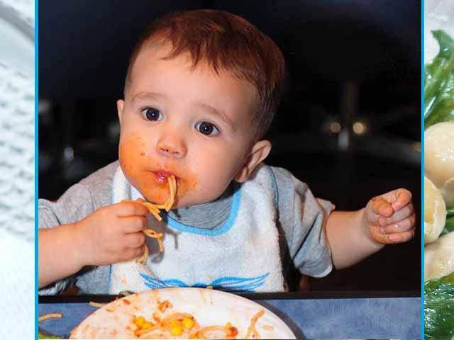 طعام العشاء للأطفال لمساعدتهم على النوم بشكل أفضل خلال الليل