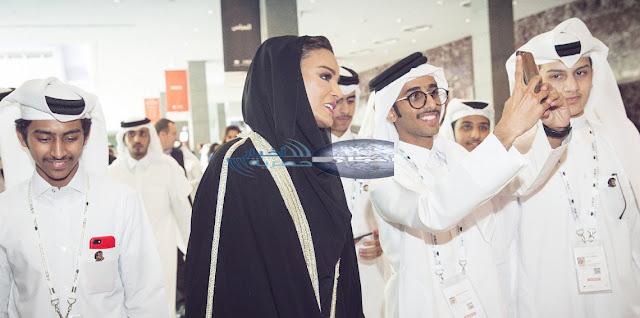 إنشاء حساب علي الفيس بوك لشيخة موزة بنت ناصر - Moza bint Nasser ولدة أمير قطر