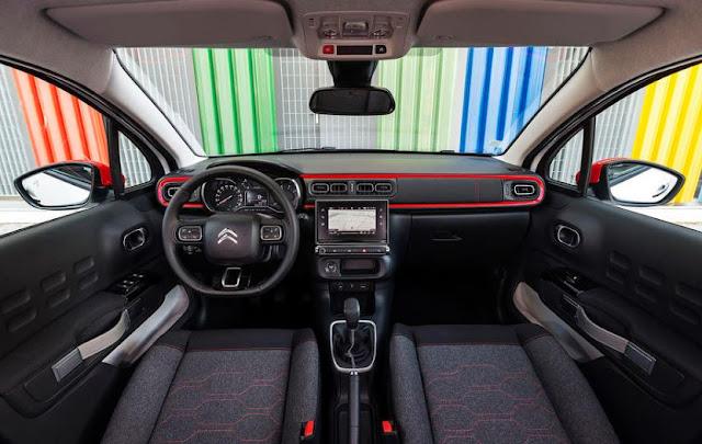 2017 Citroen C3 1.2 Puretech 82 Interior