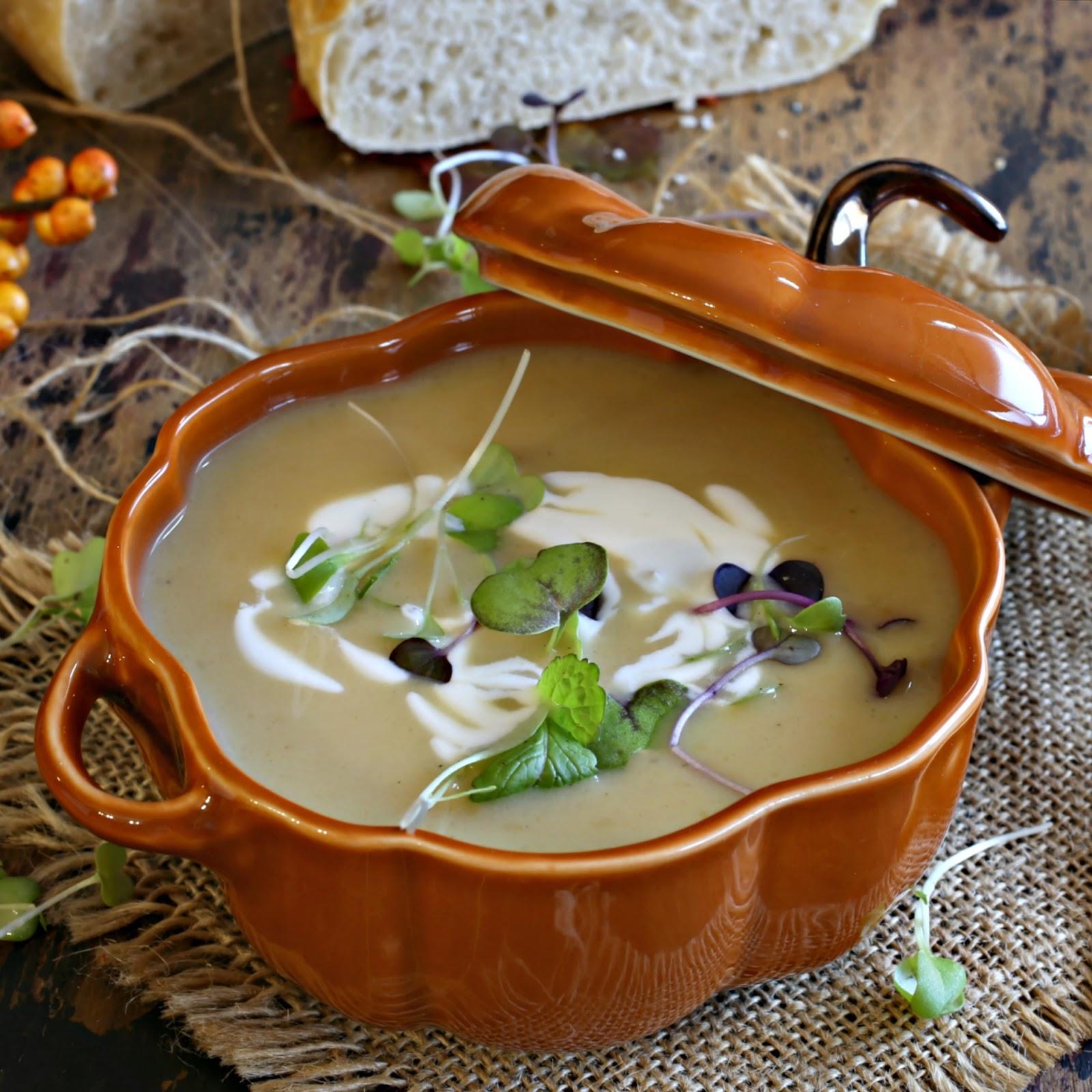 Smoky Cumin Butternut Squash Soup