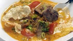 Resep soto betawi daging asli