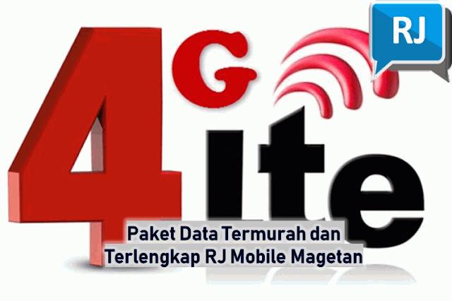 Paket Data Termurah dan Terlengkap RJ Mobile Magetan