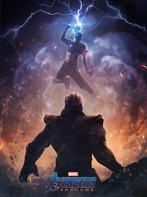 """Avengers: Endgame """"Worthy"""" Marvel Print by Phaserunner x Bottleneck Gallery"""
