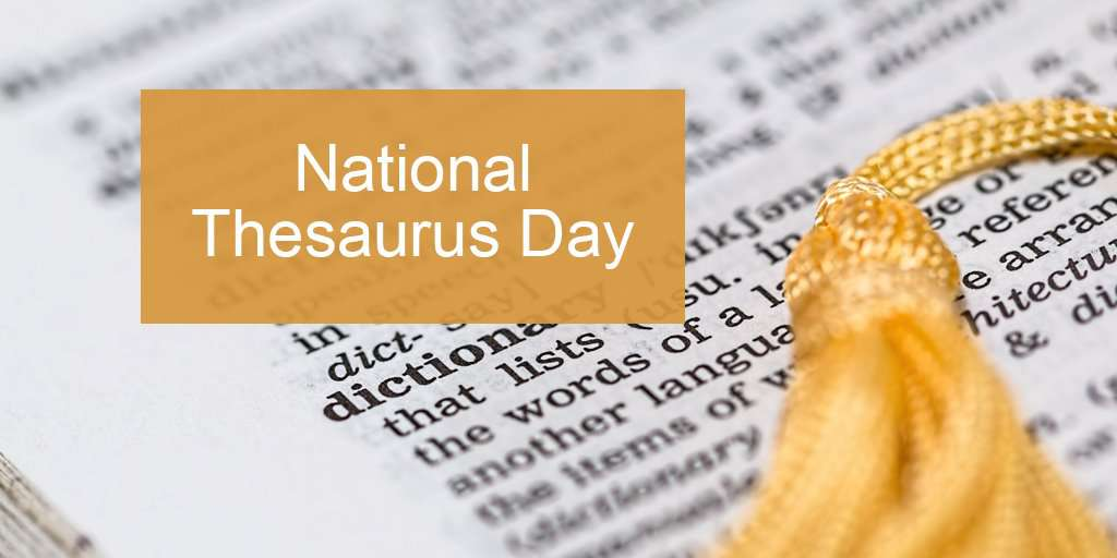 National Thesaurus Day Wishes Awesome Images, Pictures, Photos, Wallpapers
