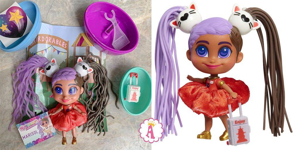 Кукла Marisol Hairdorables Shortcuts Jelly Hair серия 2