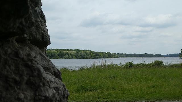 Jungfernsee von der Muschelgrotte aus