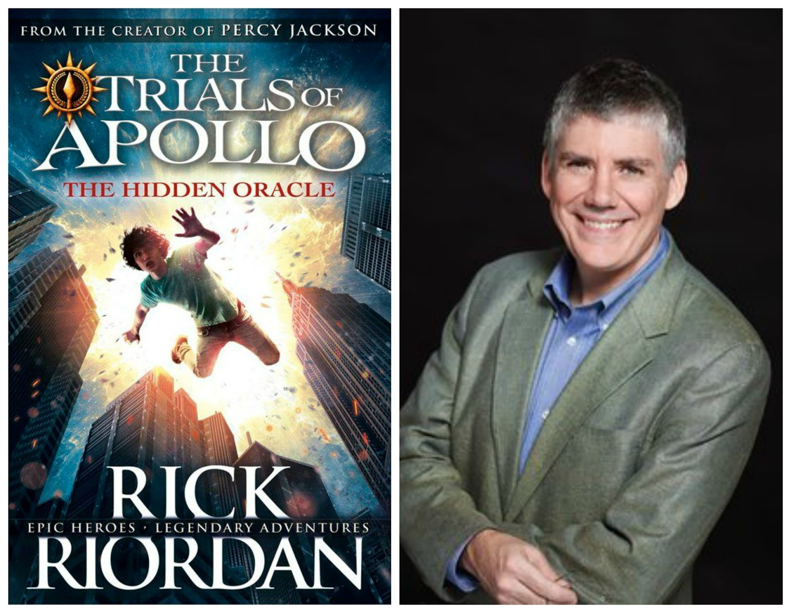 THE TRIALS OF APOLLO: THE HIDDEN ORACLE by Rick Riordan (2016 ...