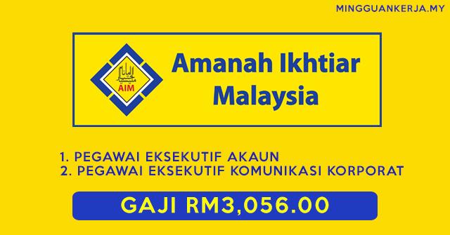 Jawatan Kosong Amanah Ikhtiar Malaysia Dibuka ~ Gaji Bermula RM3,056.00