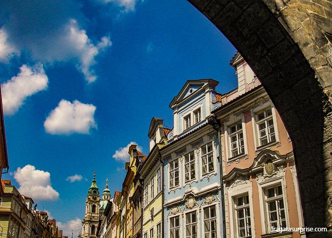 Bairro histórico de Mala Strána, Praga, República Tcheca