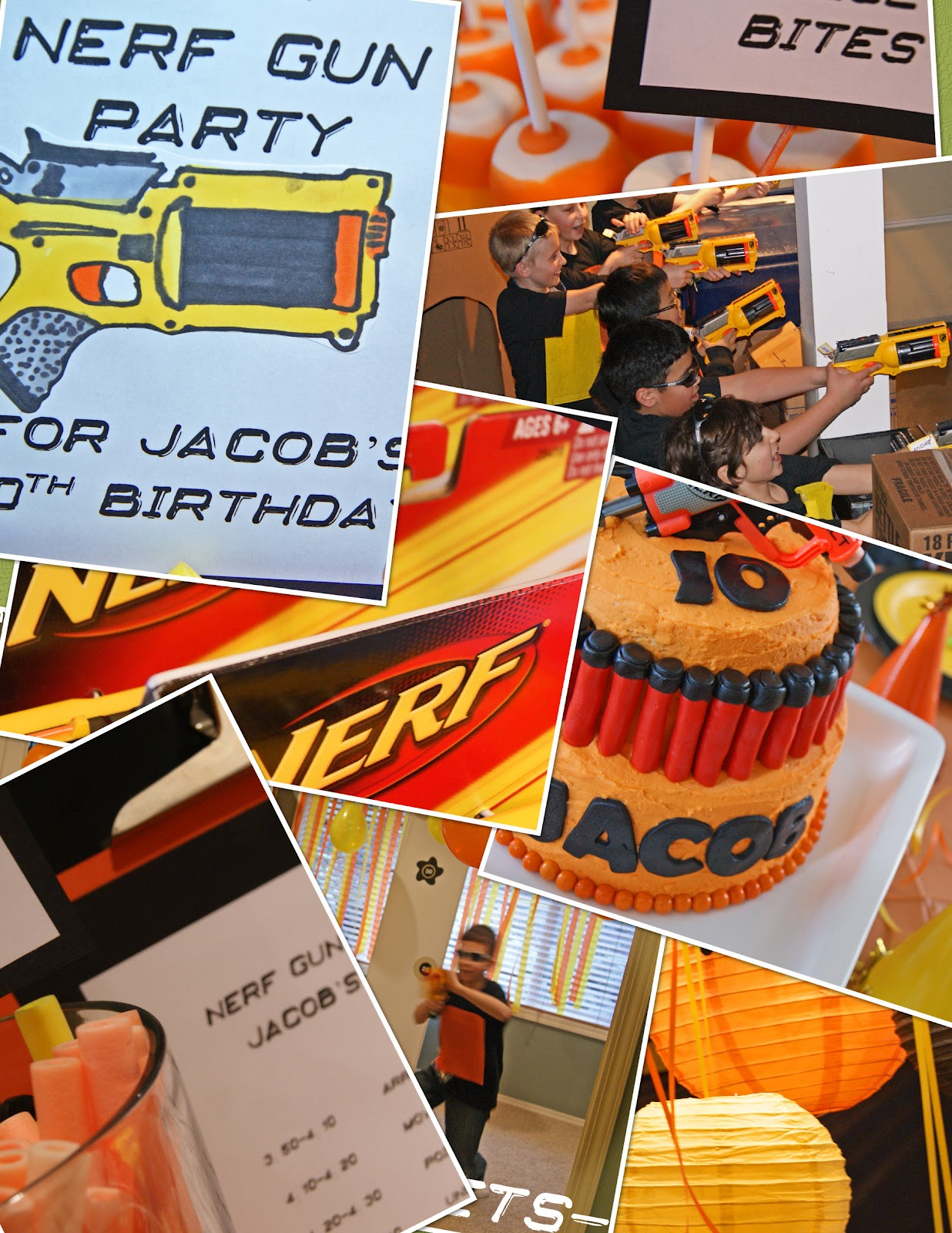 michelle paige blogs: nerf gun party!