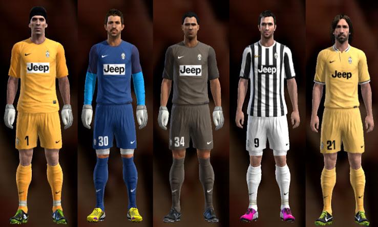 low priced f0b14 e8f36 Juventus 13-14 Kit Set by Ramz - PESEdit Blog