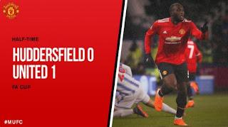 HT: Huddersfield vs Manchester United 0-1 Highlights #MUFC #HUDMUN #FACup