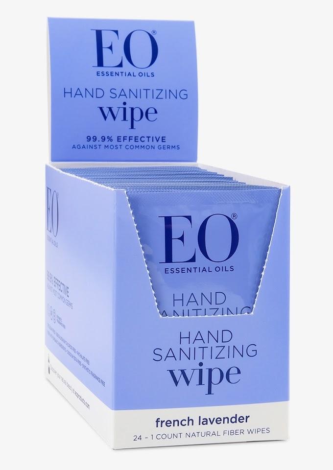 Eo Hand Sanitizer Wipes Target