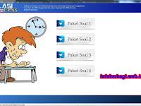 Software Simulasi CAT (Computer Assisted Test)  Untuk Komputer