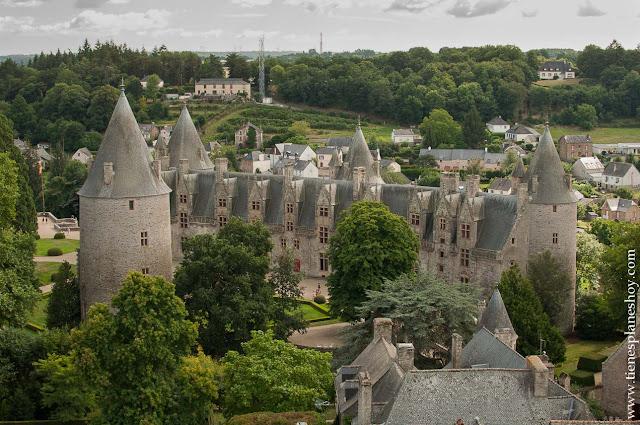 Castillo Josselin viaje turismo Bretaña diario planificar