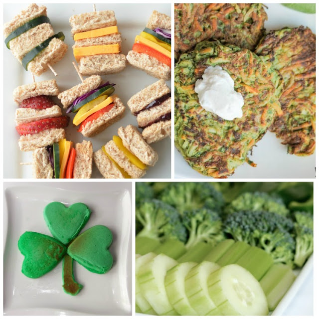 Healthy Snacks for St. Patrick's Day
