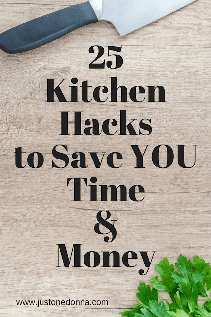Twenty-Five Kitchen Hacks