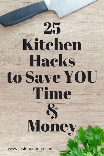 Twenty-Five Kitchen Hacks