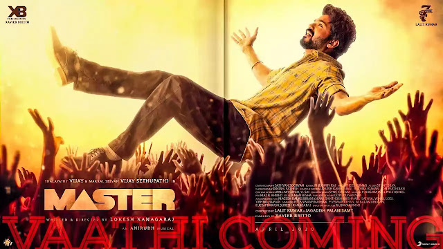 VAATHI COMING LYRICS – Master - Thalapathy Vijay