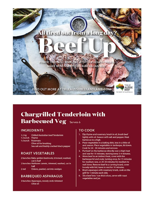 Recipe - Chargrilled Tenderloin With BBQ Veg